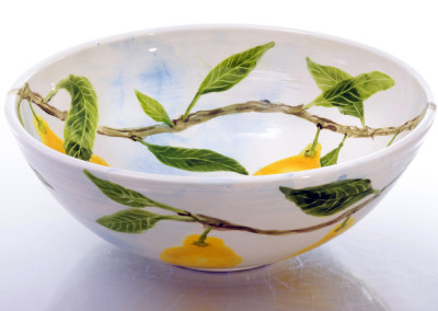 Large Bowl without rim - Lemon