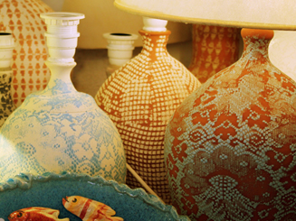 Table Lacy Lamps