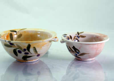 MALLORCAN BOWLS WITH EARS *15CM *18CM
