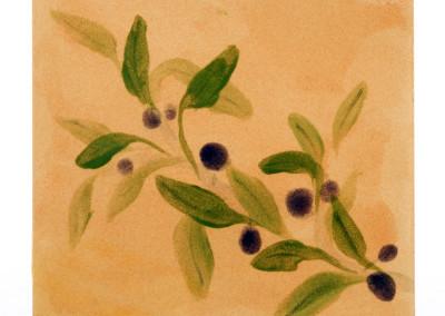 hot plate trivet olive motif