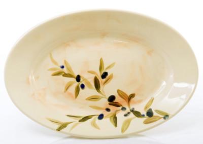 oval olive platter
